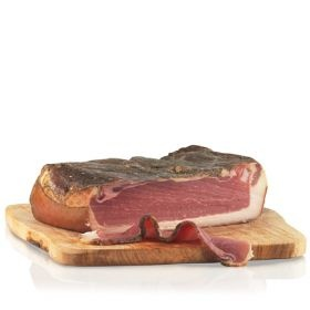 Speck Alto Adige I.G.P. is one of those staples in my fridge that get used a lot be it for carbonara or with fried eggs, over salad...
