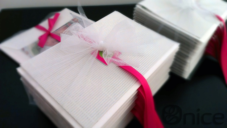 biglietti di ringraziamento / thank-you cards totally handmade by Onice event design