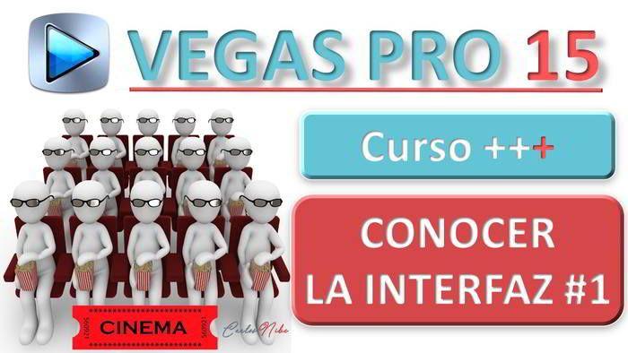 Cómo Usar El Programa Y Conocer La Interfaz De Vegas Pro 15 Curso Vegas Pro 15 Español 1 Como Crear Un Video Videos Edicion De Video