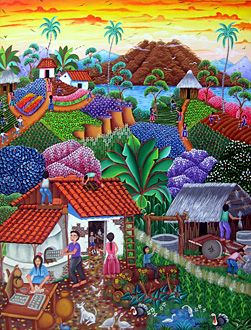 Nicaragua ~ Porfirio Morales ~ Life in the Village