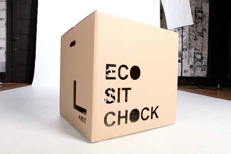 PACKING    ECO  SIT CHOCK    PROJECT  2011 DESIGNER   DOMINIKA BLAZEK