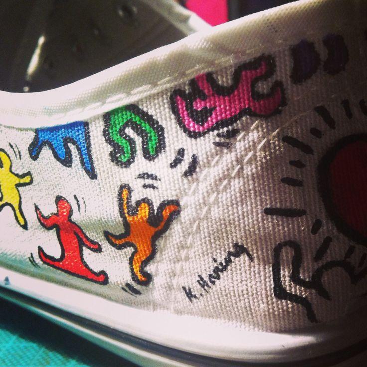 Zapatillas keith haring!!!