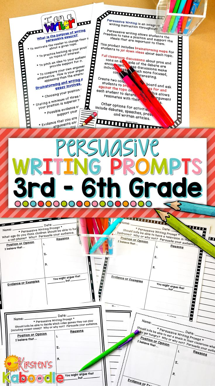opinion writing prompts 5th grade Grade 5 writing prompts page 3 november, 2012 imagine someone made an exciting announcement at school write about the announcement and what happened next.