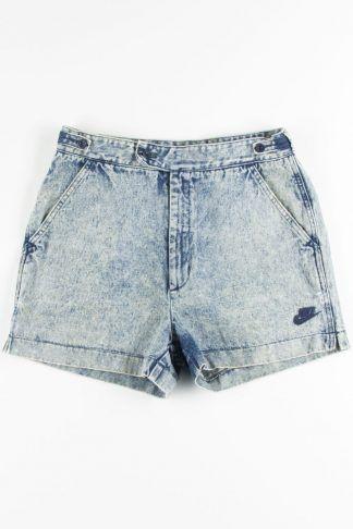 nike challenge court denim shorts