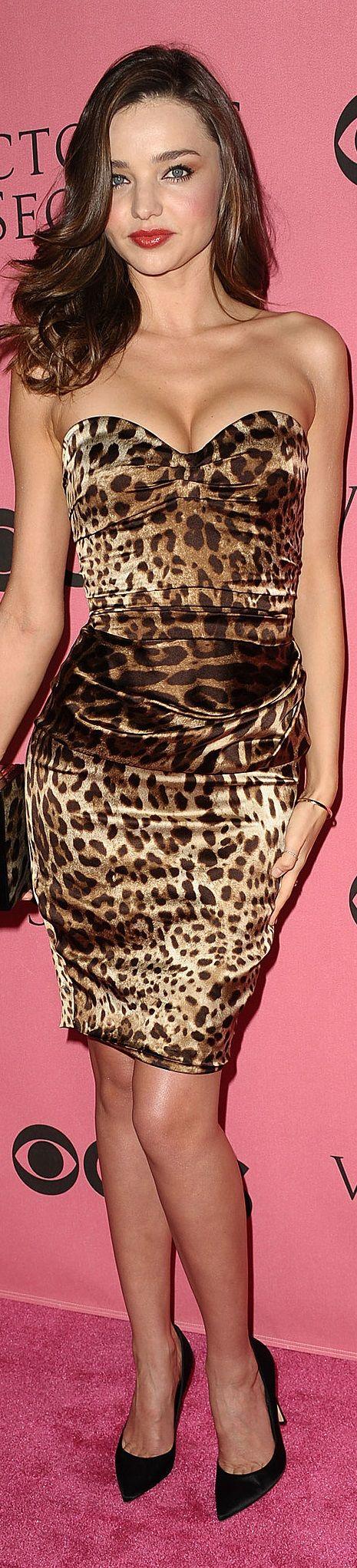 Miranda Kerr in Dolce & Gabbana ♔Style2 #Style2 #MirandaKerr #PierreMcNeilGroup