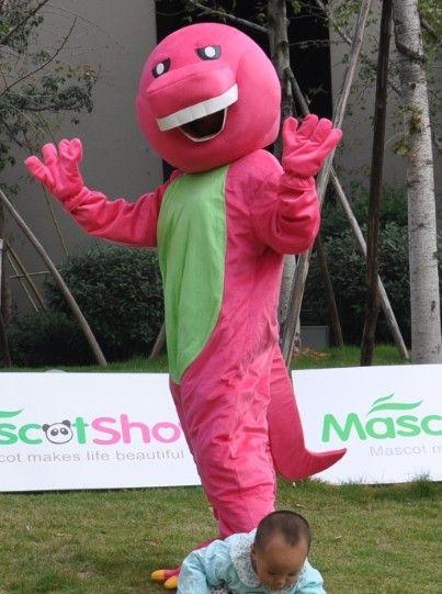 バーニー着ぐるみ太い 新版 http://www.mascotshows.jp/product/barney-dinosaur-mascot-adult-costume.html