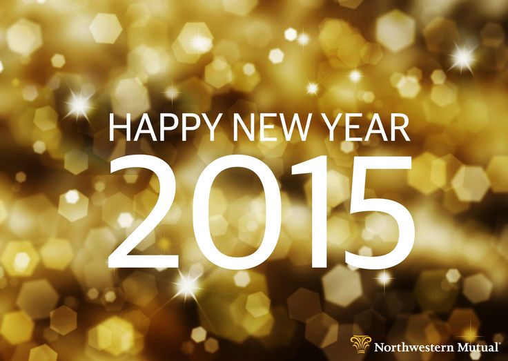 Wishing you good health and good fortune in the new year.  #2015