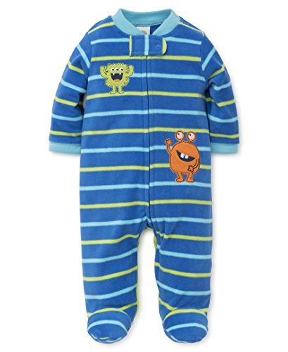 Little Me Baby Boys' Blanket Sleepers  Fleece Blanket Sleeper  Available in newborn and infant sizes  Little Me  Foot treatment