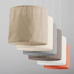 Suspension en lin froissé, Thade La Redoute Interieurs - Luminaire