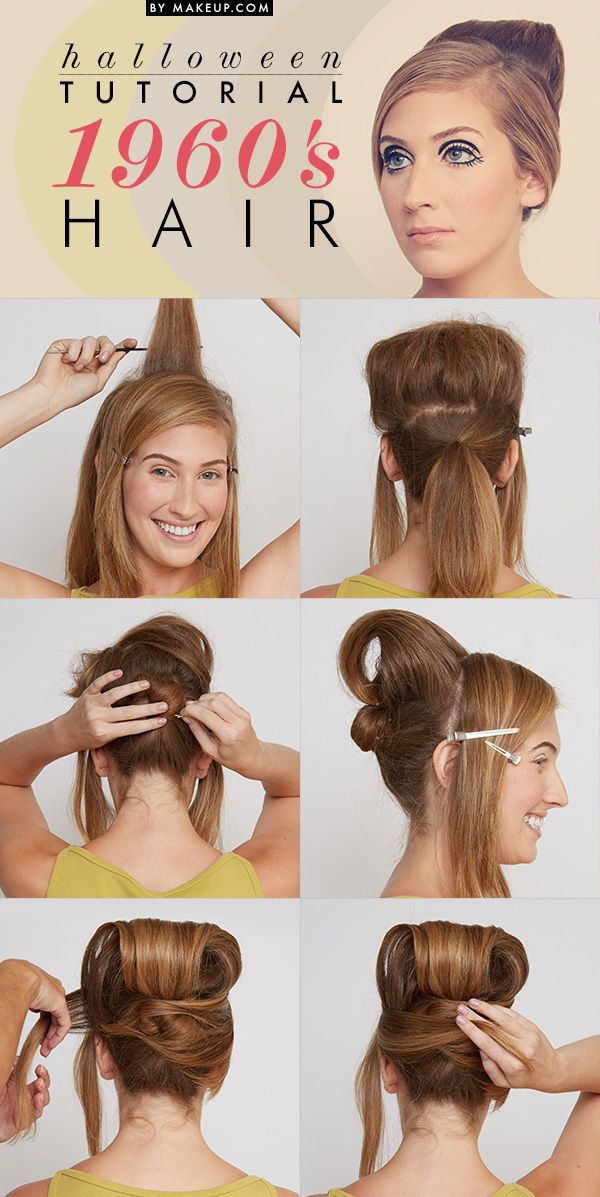 easy simple hair styles 16 easy hair tutorials to make your costume 1960