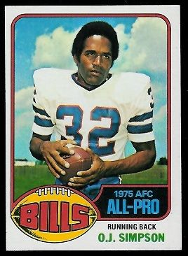 1976 topps football cards   Simpson - 1976 Topps #300 - Vintage Football Card Gallery