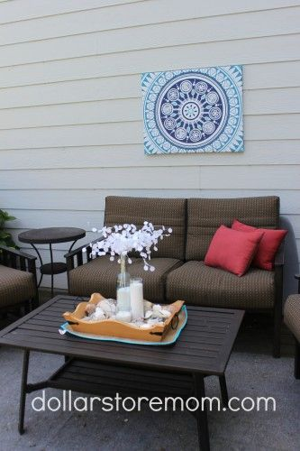 Wall Decor Canvas Patterns And Dollar Stores On Pinterest