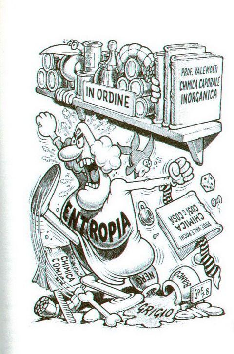 Introduzione alla chimica di Gentile A.-Valitutti G.-Gerosa V. vignette e illustrazioni Jacovitti 1979