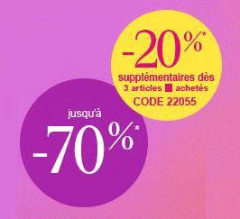 #codepromo #laredoute : 20% de réduction supplémentaires dès 3 articles achetés #Mode #Beauté #Eléctroménager