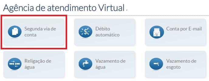 Copasa 2 Via Agencia De Atendimento Virtual Copasa