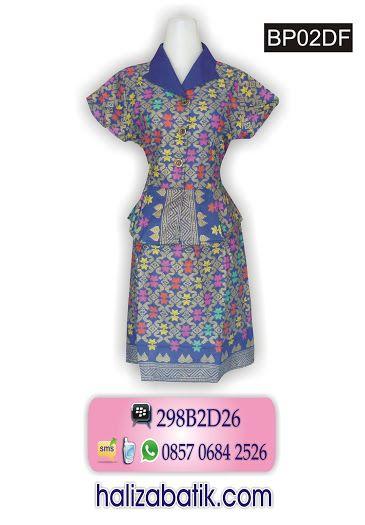 Dress batik cantik, model formal cocok untuk kerja. Order? Invite pin. 298B2D26