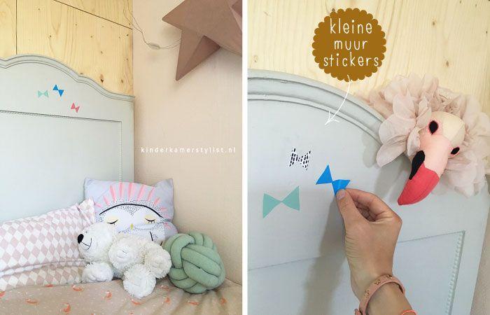 Stylen met kleine muurstickers kinderen | Mini Wallstickers kids