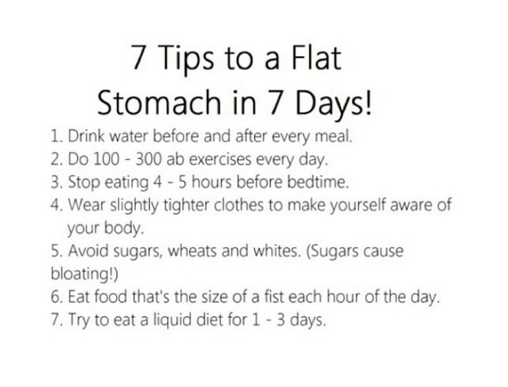 Flat stomach in 7 days more fitness health health fitness flat stomach