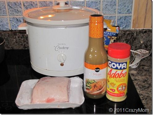 Crockpot Thursday: Cuban Sandwiches with Mojo Pork   This was awesome!!!!