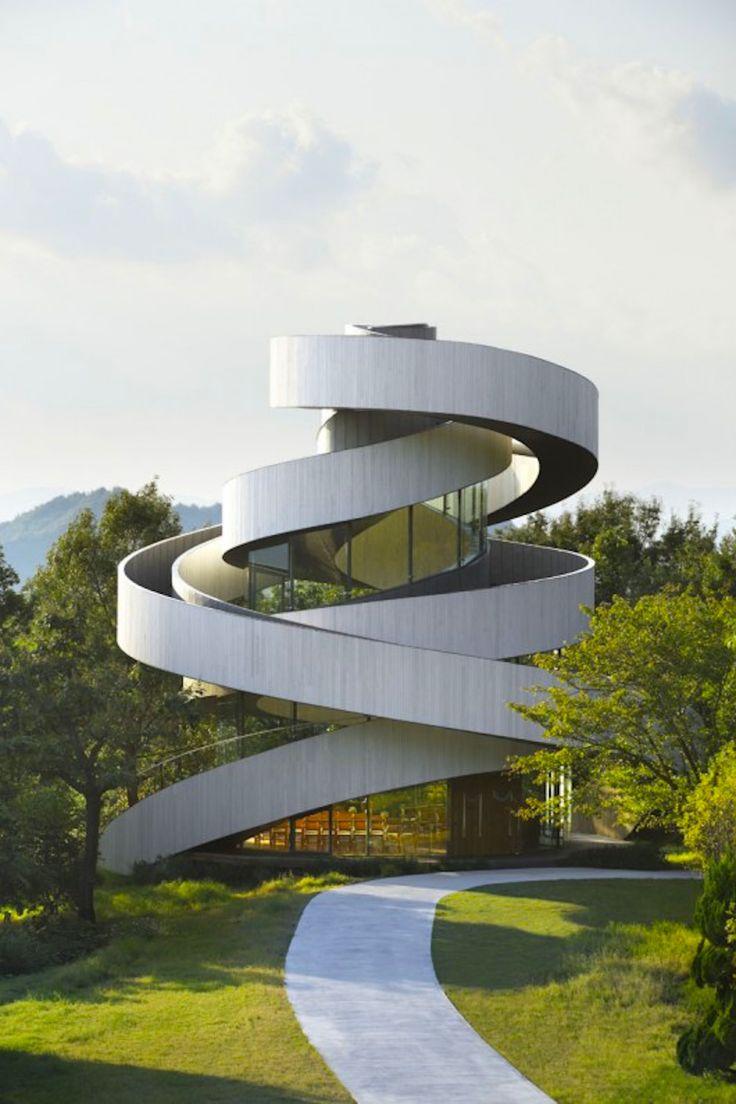 thelavishsociety:  Ribbon Chapel by NAP Architects | LVSH