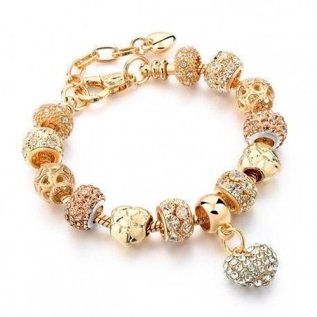 Bransoletka damska Crystal Heart biżuteria