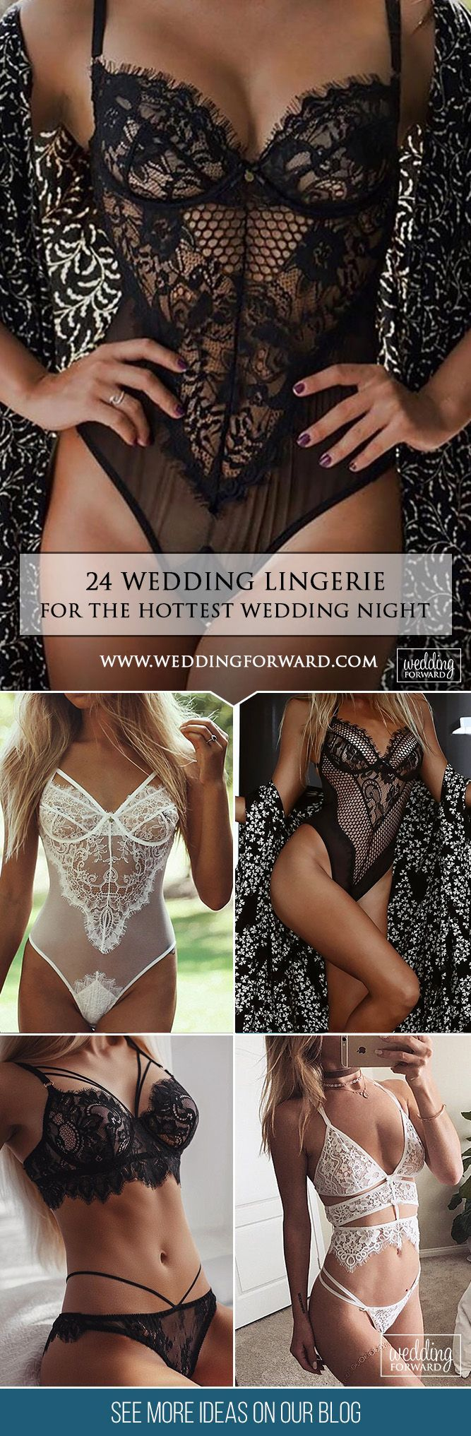 24 Breathtaking Wedding Lingerie ❤️   Make your wedding day and wedding-night perfect with a stunning wedding lingerie from our list below. Show your sexiness to your groom! See more: http://www.weddingforward.com/wedding-lingerie/ #weddings #lingerie #dress