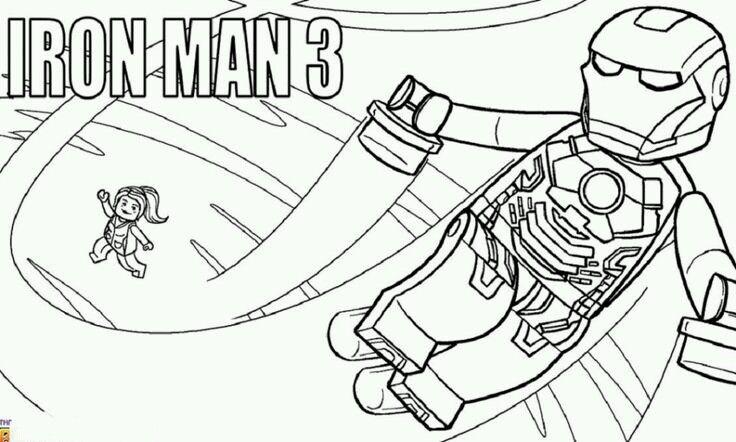 20 best iron man images on Pinterest   Ironman, Coloración adulta y ...