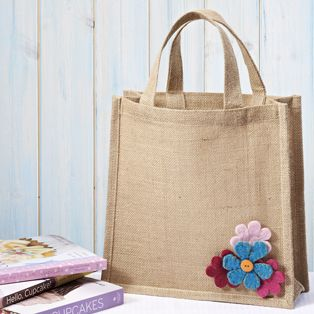 Decorated Canvas / Jute Bag