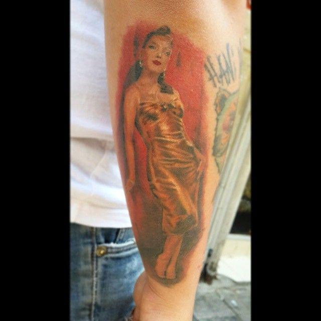 Imelda May Tattoo (healed) @imeldaofficial  #tattoo #kadikoy #eksi2tattoo #istanbultattoo #dovme #kadikoytattoo #ink #inked #colourfultattoo #armtattoo #dövme #besttattoo #tatted #tattoos #originaltattoo #follow4follow #f4f #followus #instatattoo #imeldamaytattoo #imeldamay #portraittattoo #illustrationtattoo #pinuptattoo #kadıköy #tattoostudio #bodyart #bodytattoo #realistictattoo #cooltattoo