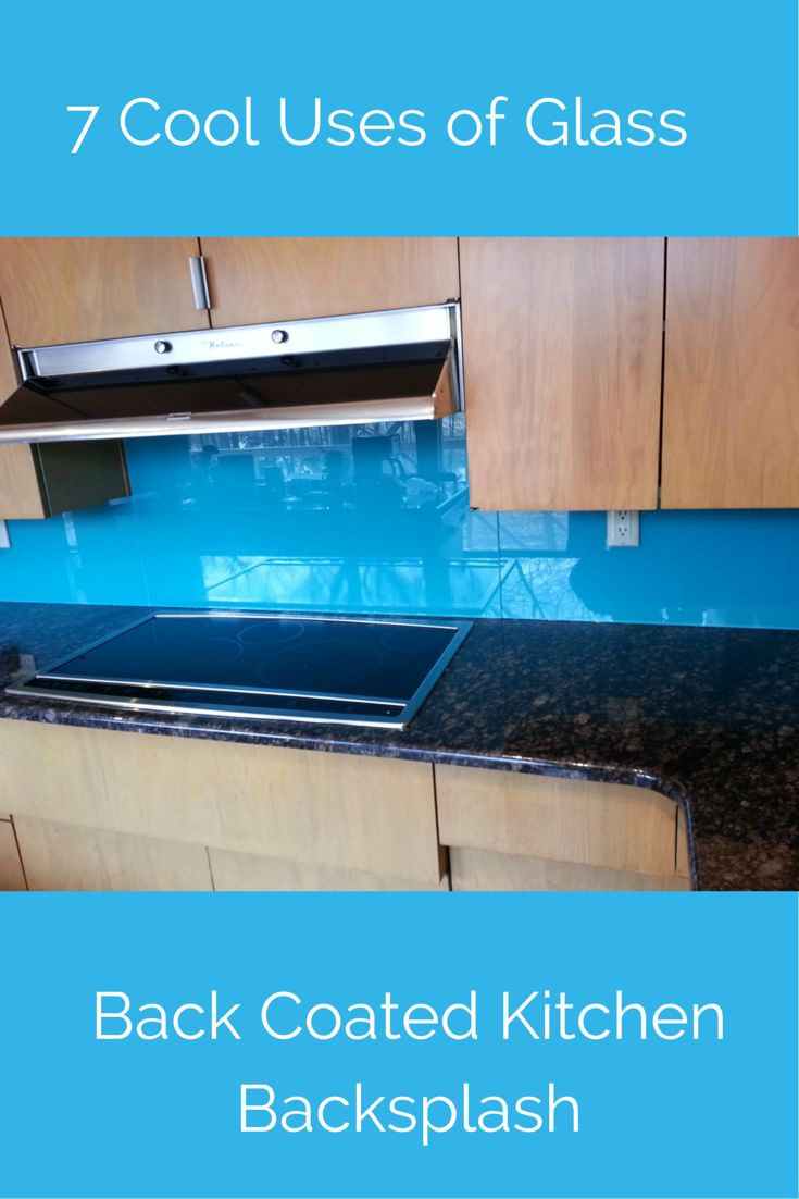 Glass in a kitchen can be so cool! How about a back painted glass backsplash for style? Check out 7 cool uses of glass for a contemporary home in this article - http://blog.innovatebuildingsolutions.com/2015/06/06/7-cool-glass-contemporary-luxury-home/