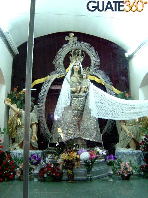 La impresionante imagen de la Virgen de Chiantla