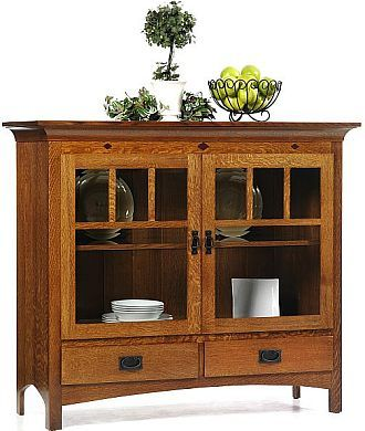 Amish crafted pantry. I bet you can come up with a lot of ideas of things to store in this beautiful piece of furniture..