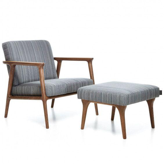 Zio Lounge Chair Loungestoel - Moooi | MisterDesign