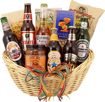 The 25+ best Beer gift baskets ideas on Pinterest | Men gift ...