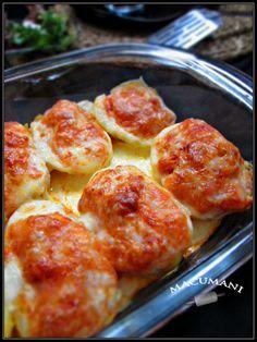 Hoy suelto la receta rapiditoy voy a ver si me recupero , que estoy como la mayoria de los españoles...con fiebre...aunque la mía sea del sábado noche...  Pues bueno , estas patatas mallorquinas las p