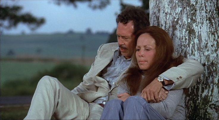 Warren Oates and Isela Vega in Bring Me the Head of Alfredo Garcia, 1974, directed by Sam Peckinpah