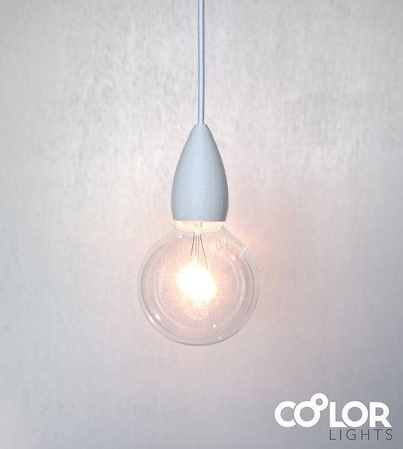 Customizable Pendant Light Fit Big van CoolorLights op Etsy