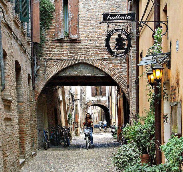Always going to be my 2nd home! Miss it more than anything... Ferrara, Italy