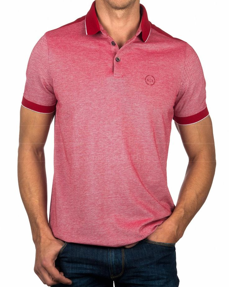 Polo Shirt ARMANI EXCHANGE © Open Red | BEST PRICE