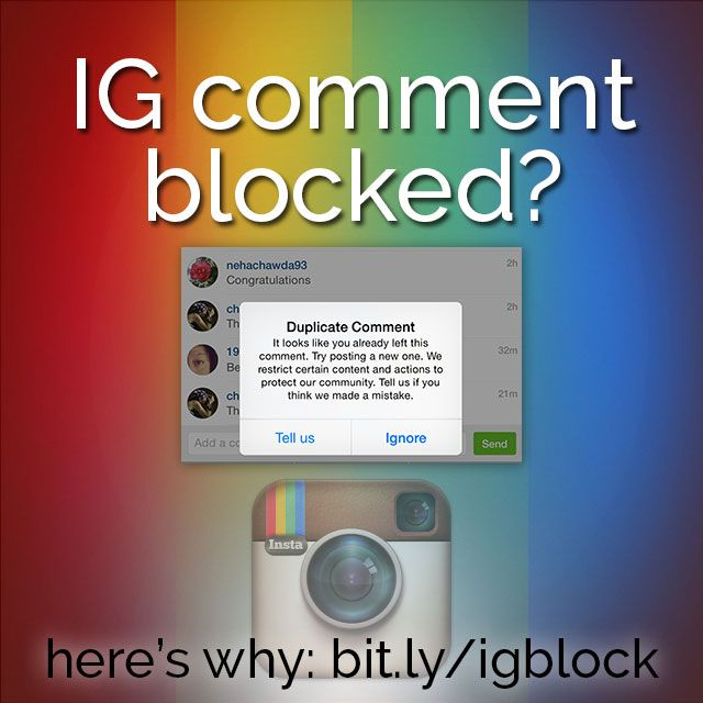 Have you had your Instagram comments blocked recently? IG continues to battle spammers, and innocent users are caught in the aftermath. Here's the deal.