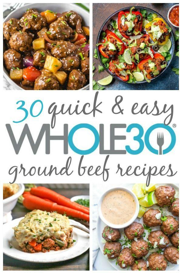 30 Whole30 Ground Beef Recipes Paleo Gluten Free Easy Whole Kitchen Sink In 2020 Whole30 Ground Beef Recipes Ground Beef Recipes Diet Dinner Recipes