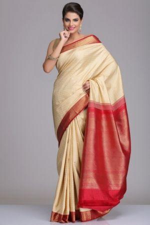 yellow kanjeevaram sarees - Google Search