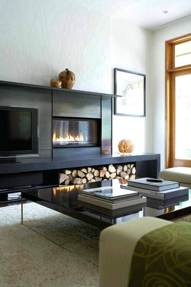 Tv Next To Fireplace Cabinet With Fireplace Next To Flat Game Room Family Entertainment Center Game Room Design