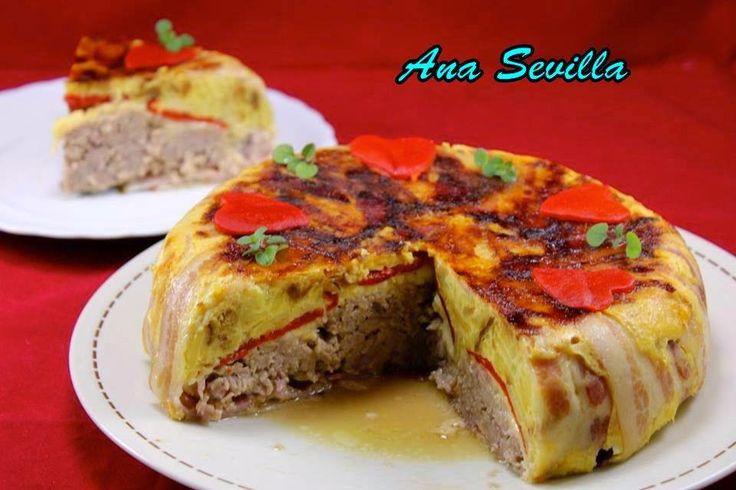 Pastel de tortilla y carne Ana Sevilla olla GM