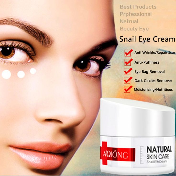Aqiong High Concentrated Anti Wrinkle Snail Eye Cream For Bags Skin Food Eye Care Ageless Aqiong Dark Circles Firming Eyes Serum