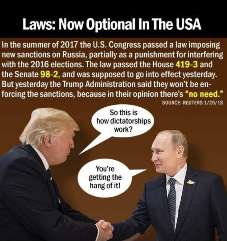 """trump won't say one bad thing about Putin, won't enforce Sanctions Against Russia for meddling in Our Elections and has Overlooked the Russian Planes Taunting Our Navy!! Putin has something Very Big Hanging Over trump and trump himself proves this fact everyday by """"Coddling Putin!!! Something Is Very, Very Wrong here America and I along with Millions of Decent Americans want to know what the hell it is!!!"""