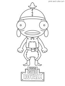 Fortnite cartoon coloring pages ~ Fortnite coloring pages | Print and Color.com | FORTNITE ...