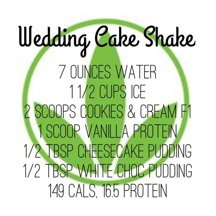 Herbalife Wedding Cake Shake Recipe