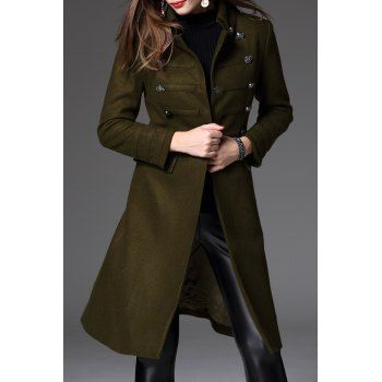 SHARE & Get it FREE | Midi Wool Blend CoatFor Fashion Lovers only:80,000+ Items·FREE SHIPPING Join Dresslily: Get YOUR $50 NOW!