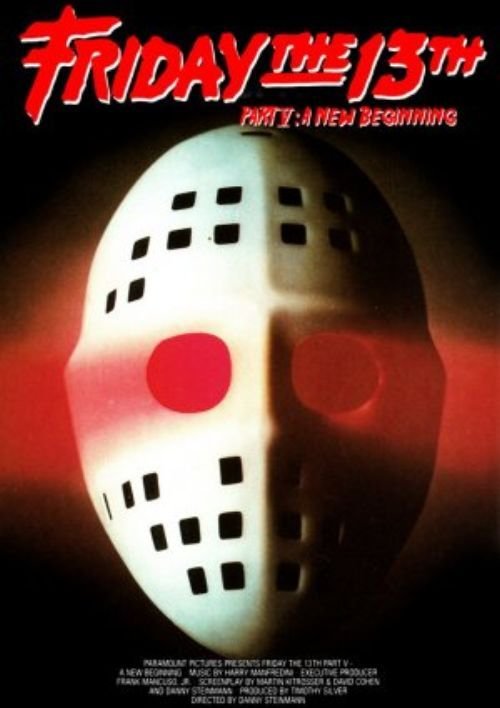 Episode 64: FRIDAY THE 13th PART FIVE.  Seriously, I abhor this movie.  But tradition dictates that when a Friday the 13th occurs on the calendar, I discuss the next film in the F-13 series.  Evidently, I'm even more entertaining when I'm shredding a movie I hate, so buckle up, kids.  Because I REALLY hate this movie.